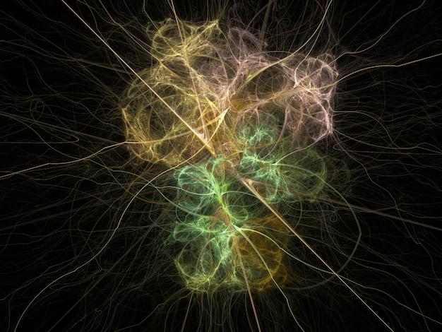 Fantasierijke fractale textuur