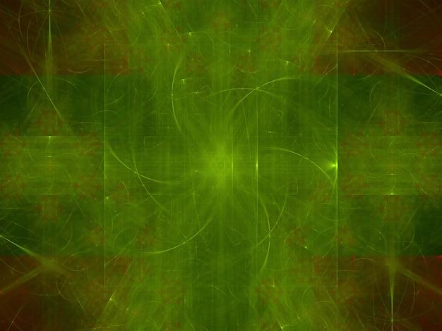 Fantasierijke weelderige fractal textuur geproduceerde beeld abstracte achtergrond