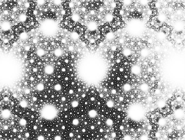 Fantasierijke weelderige fractale textuur gegenereerde afbeelding abstracte achtergrond