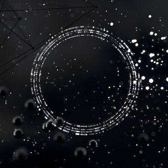Fantastische abstracte ruimteachtergrond in het 3d illustratie teruggeven