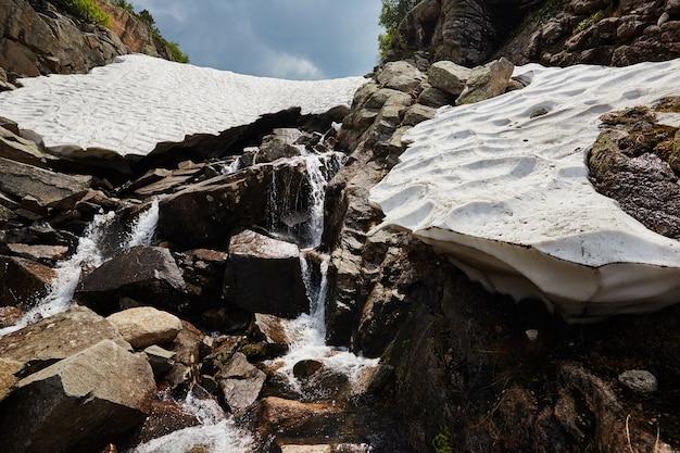 Fantastische bergstroompjes