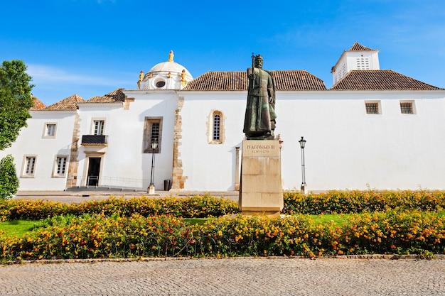 Faro archeologisch museum in faro, algarve, portugal