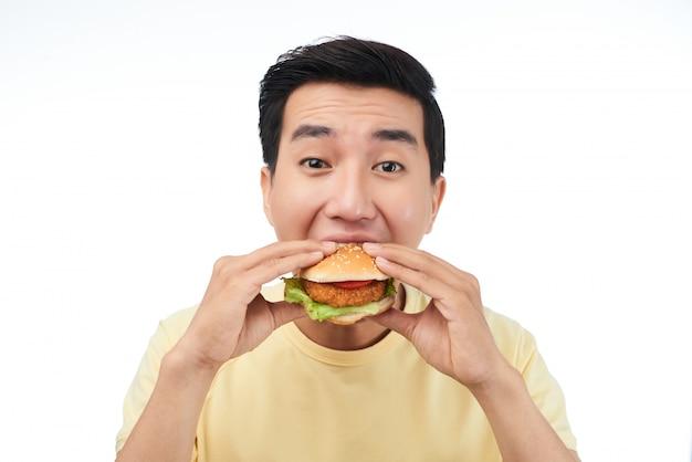Fast food liefhebber
