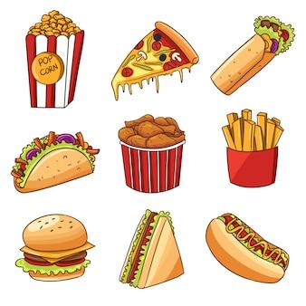 Fastfood-sticker