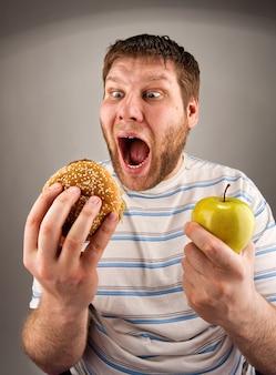Fastfood versus gezond eten