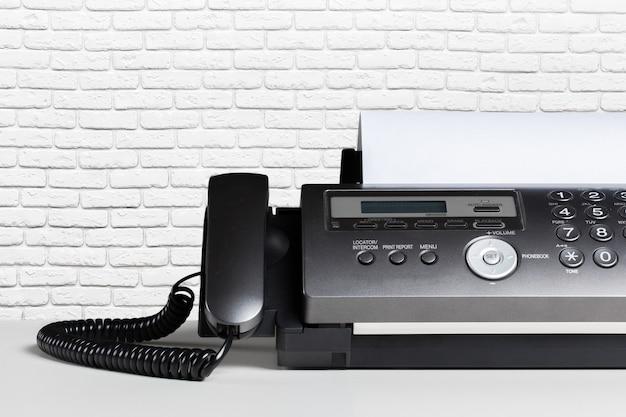 Faxapparaat, communicatie