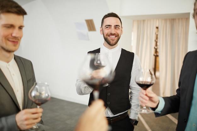 Feest bij winery