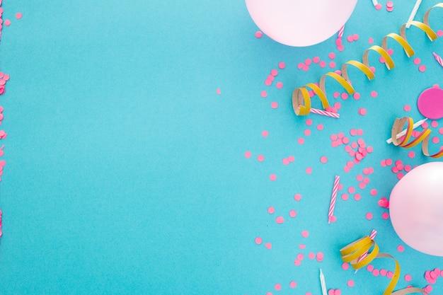 Feest- of verjaardagsbanner met ruimte voor tekst