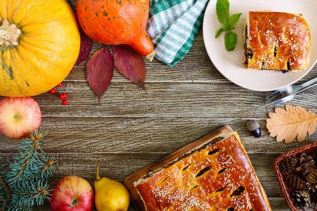 Feestelijk diner voor thanksgiving