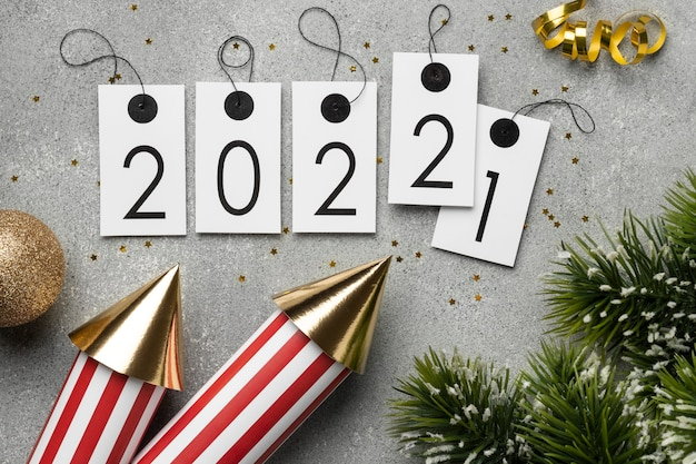 Feestelijk nieuwjaarsarrangement 2022