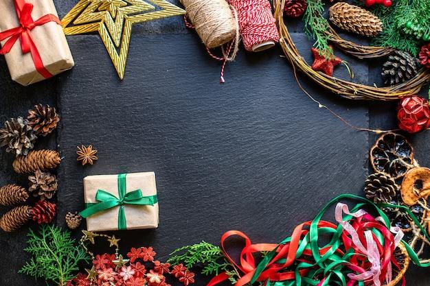 Feestelijke achtergrond van kerstmis