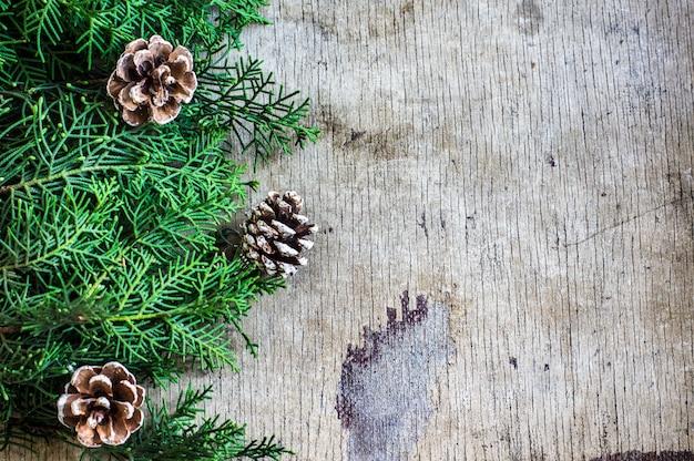Feestelijke winter kerst achtergrond