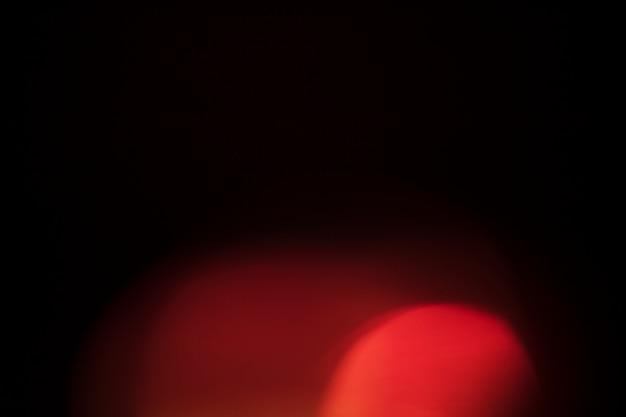 Fel licht op zwarte achtergrond