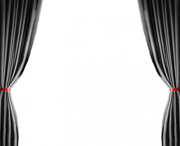 Fel verlichte gordijnen voor uw achtergrond