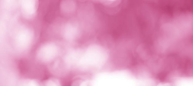 Felroze en witte sprankelende bokeh-achtergrond is mooi als achtergrond voor valentijnsdag