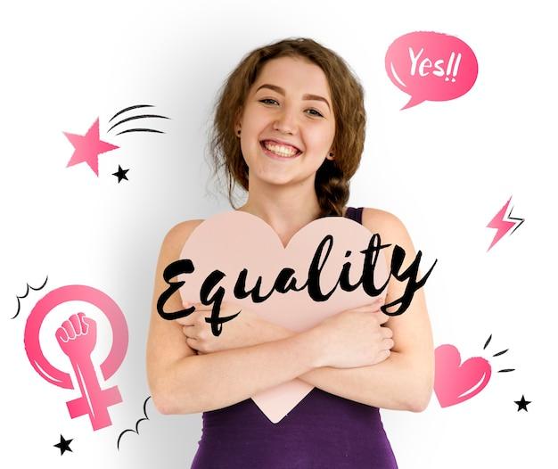 Feminisme gelijkheid vertrouwen vrouwen gelijk