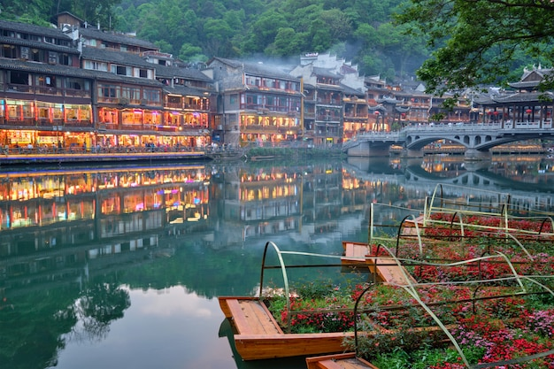 Feng huang ancient town phoenix ancient town, china