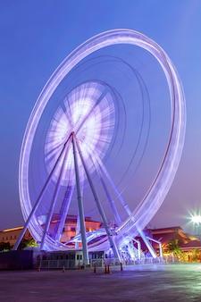 Ferris-avond in bangkok