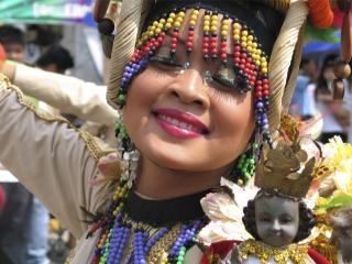 Festival koningin, vrouw