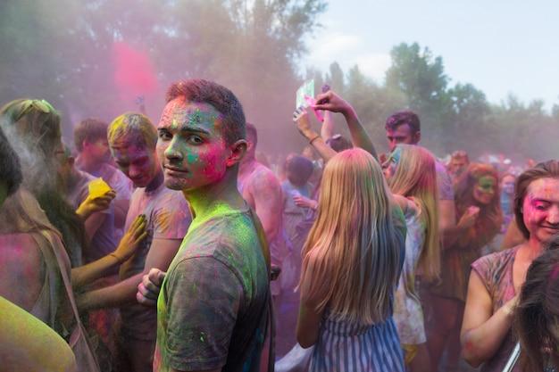Festival van kleuren colorfest