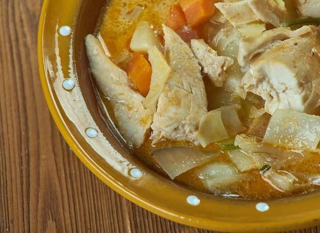 Ffowlyn cymreig - welsh chicken recepten