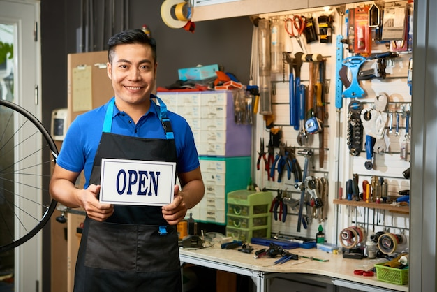 Fietsmonteur openingsworkshop