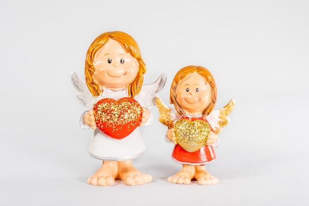 Figuur kerstdecoratie nieuwjaar kerstboom mini beeldje