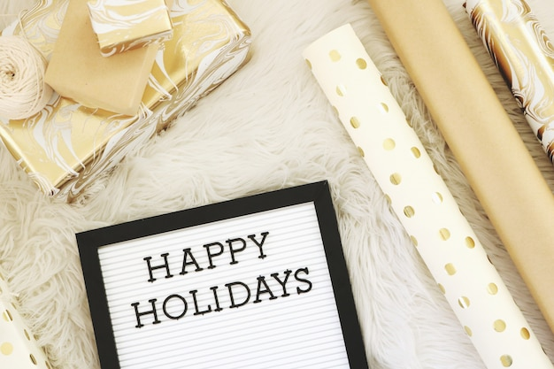 Fijne feestdagen tekst