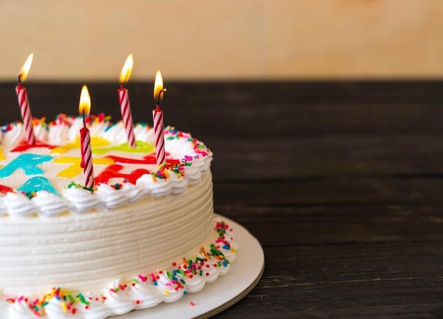 Fijne verjaardagstaart