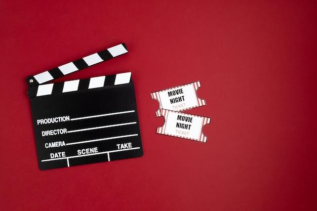 Filmklapper en halloween-decoratie