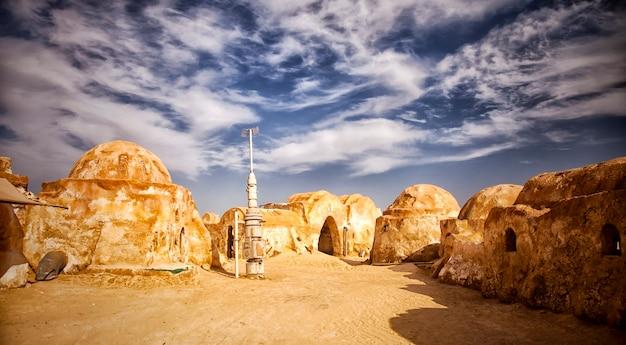 Filmset uit de sahara, tunesië