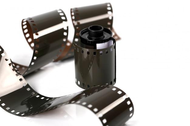 Filmstrip geïsoleerd