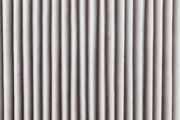 Filter is schoon en niet gebruikt, nieuw papieren filter voor luchtzuivering