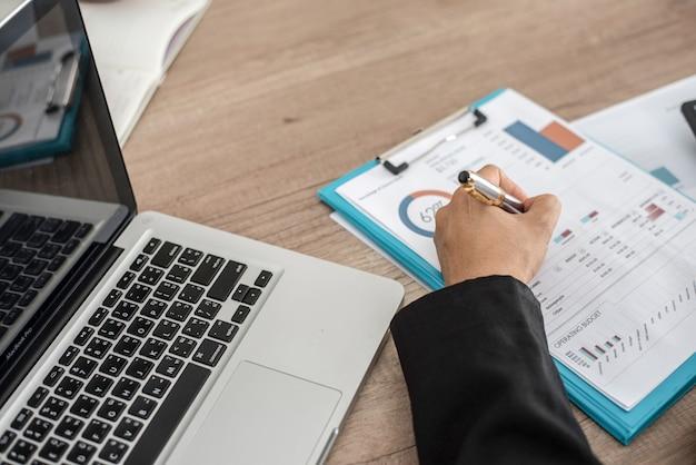 Financieel boekhoudconcept