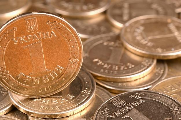 Financieel succes oekraïens geld voor rijke het levensconcepten
