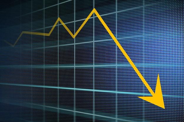 Financiële en zakelijke grafieken