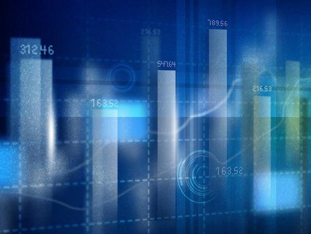 Financiële grafieken en diagrammen