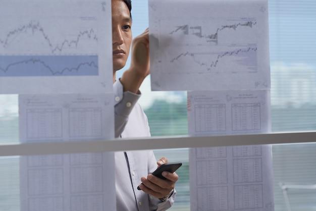 Financiële informatie analyseren