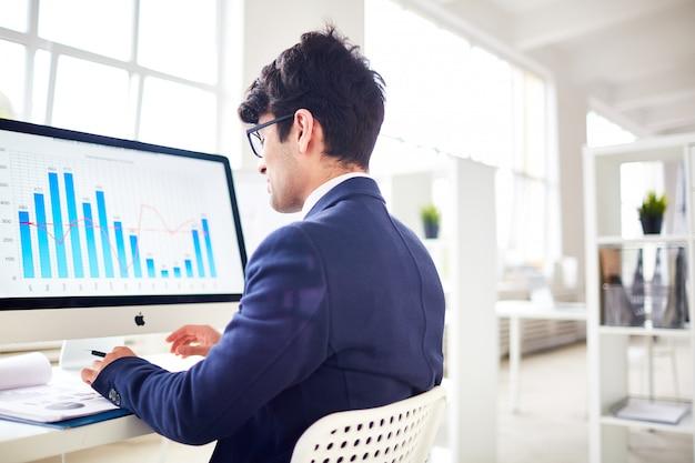 Financiële statistieken analyseren