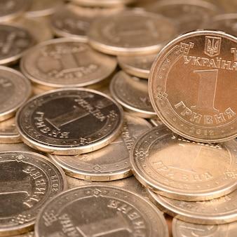 Financiële succes oekraïense geldachtergrond voor het rijke leven s