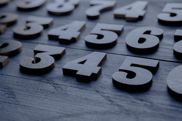 Financiën gegevens concept. naadloos patroon met getallen. financiële crisis concept
