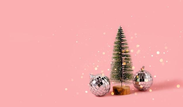 Fir tree kerstmis en nieuwjaar