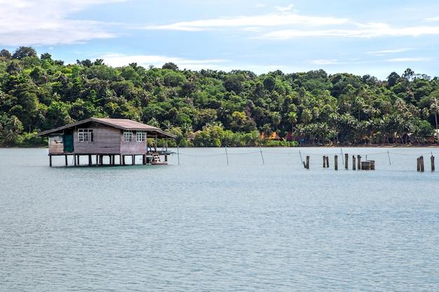 Fisherman's bay, landelijke smaak in thailand, het leven van een visser