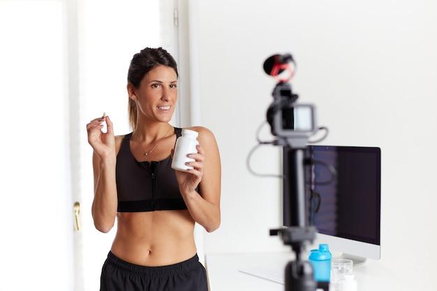 Fit blogger over vitaminesupplementen