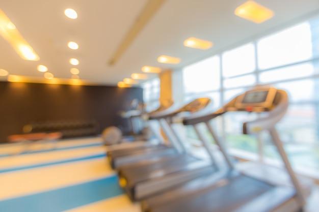 Fitness club achtergrond wazig