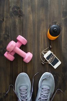 Fitness, gezonde en actieve levensstijl concept