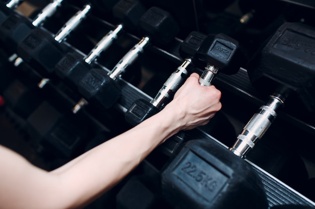 Fitness in de sportschool