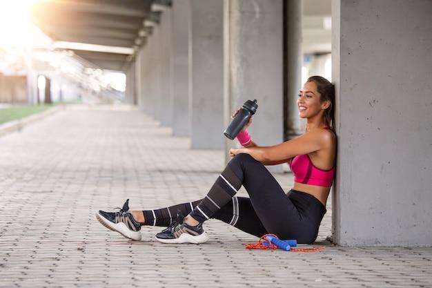 Fitness model uit te werken
