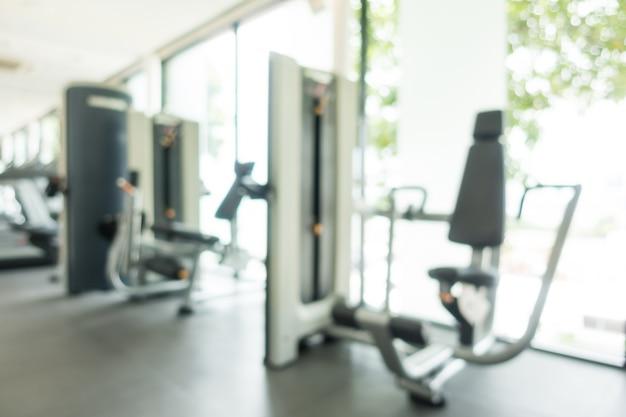 Fitnessapparaten ongericht
