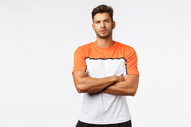 Fitnesstrainer teleurgesteld cliënt gemist training.